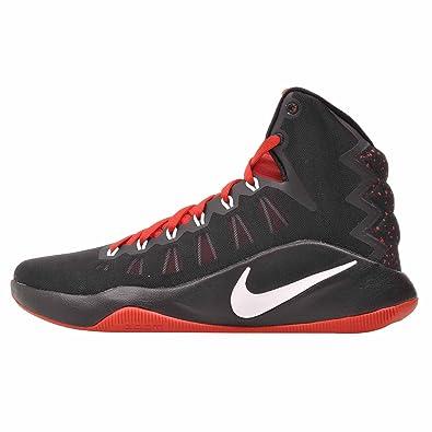 Nike Mens Hyperdunk 2016 SE  Black  White  University Red  B073YMDYF6