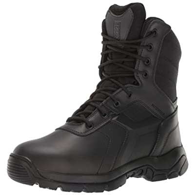 Battle OPS Men's 8-inch Waterproof Side Zip Tactical Boot Non Safety Toe Military: Shoes