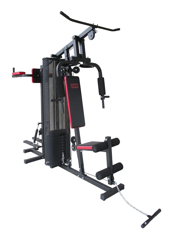 Motive Erwachsene Challenge Multi-Gym, Schwarz-Rot, m