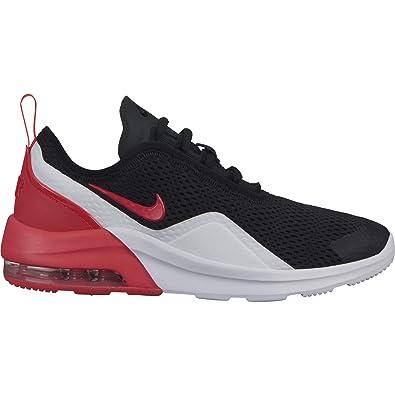 new concept 98124 b3f76 Amazon.com   Nike Boy s Air Max Motion 2 Shoe Black Red Orbit White Size  3.5 M US   Running