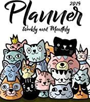 2019 Planner Weekly And Monthly: Daily Weekly