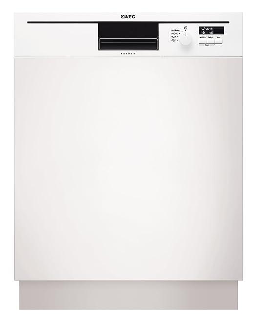 AEG F50012IW0 - Lavavajillas (A +, 1.01 kWh, 12.4 L, 596 mm ...