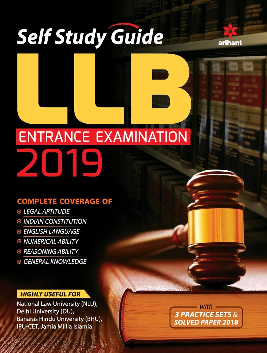 Buy Self Study Guide for LLB Entrance Examination 2019 Book Online at Low  Prices in India | Self Study Guide for LLB Entrance Examination 2019  Reviews ...