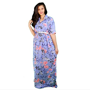 315d91c5a9 amour 316 Pink Trink Maxi Dress: Amazon.in: Clothing & Accessories
