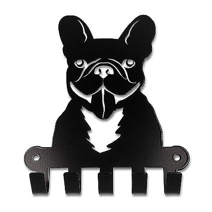 Amazon.com: Pet Deco French Bulldog Leash Holder   Easy Wall Mount