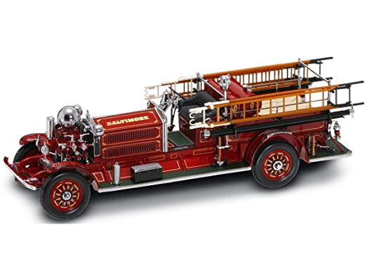 Yat Ming Scale 1:24-1925 Ahrens-Fox N-S-4 Fire Engine Review