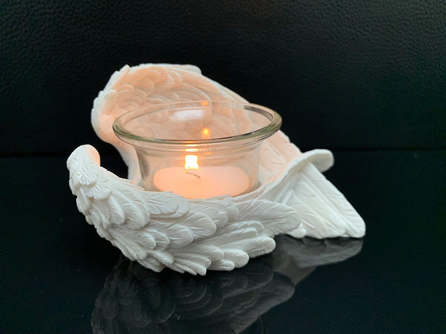 RSQO Puckator Angel Wings Candle Holder Ornament Mothers