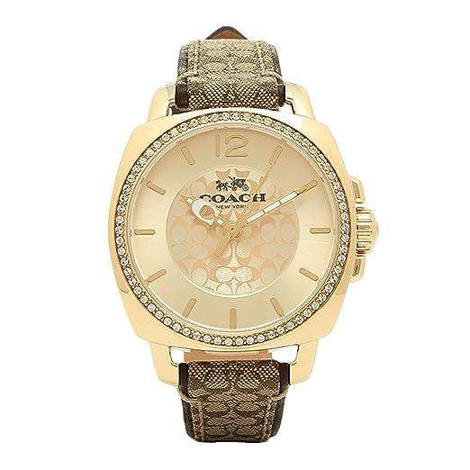 ff5524c76be4 Coach Damas Cuarzo  Batería Reloj 14502509  Coach  Amazon.es  Relojes