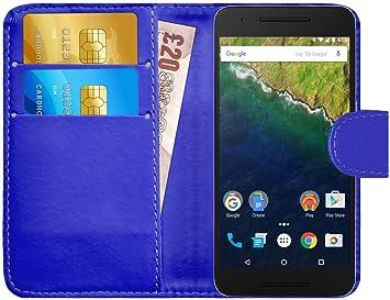 G-Shield Funda para Huawei Google Nexus 6P, Carcasa de Cuero con ...