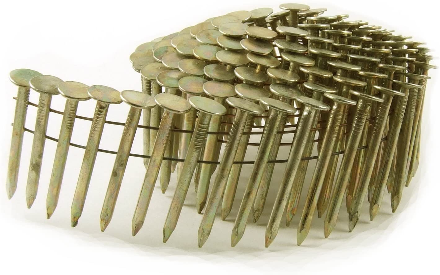 B0000225FX B&C Eagle CR-1 Round Head 1-Inch x .120 Smooth Shank Electrogalvanized Coil Roofing Nails (7,200 per box) 71HVQsUYNPL