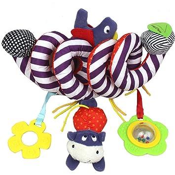 BOZEVON Bebé Juguetes Colgantes Espiral de Animales para Paseante / Cunas / Balanceo / Cochecito Carrito Bebés Recien Nacidos Juguete , Pájaro: Amazon.es: ...