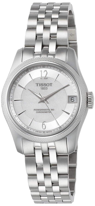 [ティソ] TISSOT 腕時計 バラード オートマティック COSC パワーマティック80 ホワイト マザーオブパール文字盤 ブレスレット T1082081111700 レディース 【正規輸入品】 B06XD4NTCB