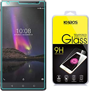 KHAOS [Tempered Glass] Screen Protector for Lenovo Phab 2 Plus, [0.3mm 2.5D 9H] - Retail Packaging,