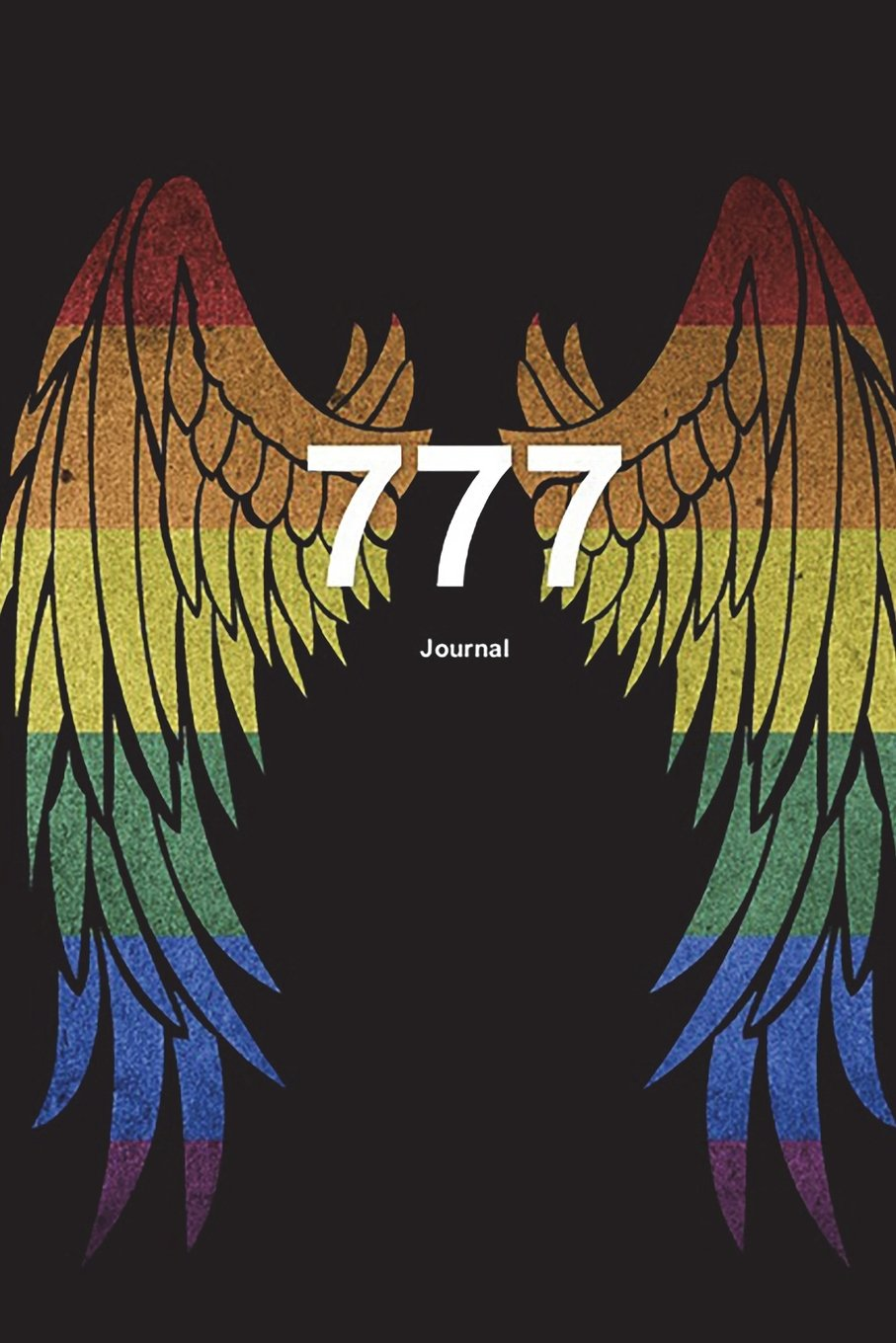 777 Journal: Angel Number Writing Notebook 100 Lined Pages