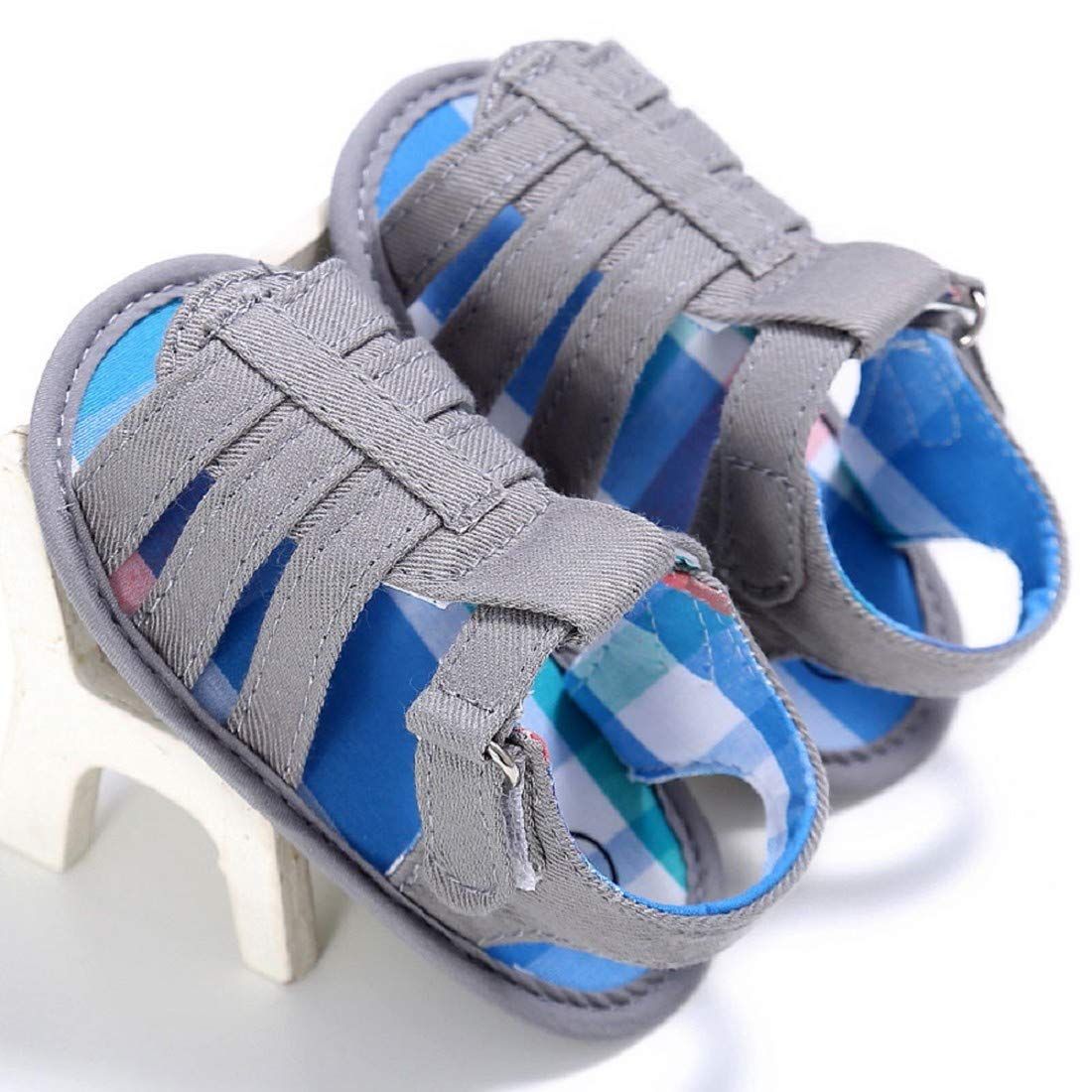 FAPIZI Baby Shoes Infant Sandals Toddler Soft Sole Crib First Walkers Girls Kid Flats