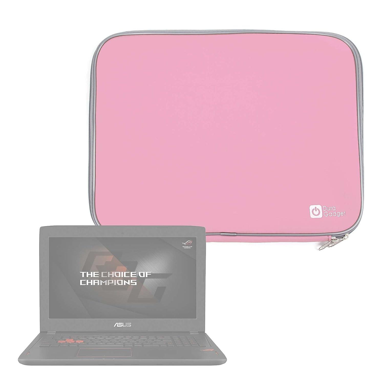 DURAGADGET Funda De Neopreno Rosa para Portátil ASUS ROG Strix Hero Edition GL503VD, GL503VM, Scar Edition GL503VD, Scar Edition GL503VM / ASUS ZenBook Flip ...