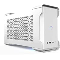 Cooler Master MasterCase NC100 White SFF Small Form Factor 7.9 Liter Case with V650 Gold SFX PSU, GPUs 2.5 slots up to…
