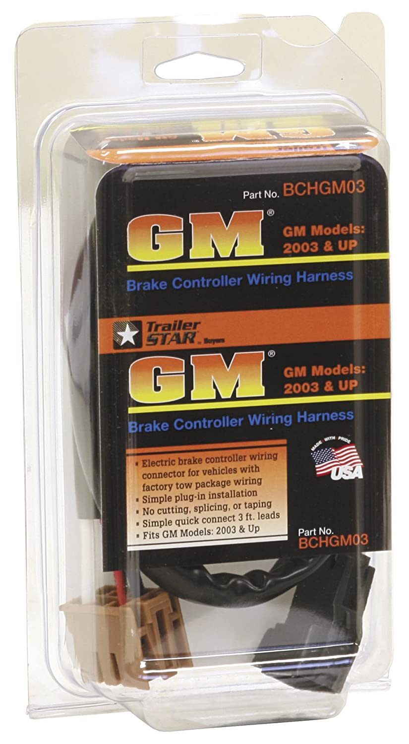 Buyers Products Bchgm03 Brake Controller Harness For Gm Electric Wiring Automotive