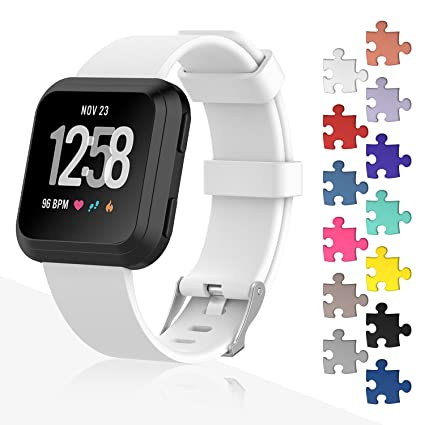 b48ca272402a Fitbit Versa Bands, I-SMILE Classic Edition Replacement Bracelet Sport  Wristband with Buckle Accessories