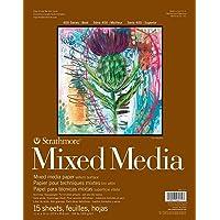 "Strathmore 400 Series Mixed Media Pad, 462-111, Paper, White, 11""x14"""