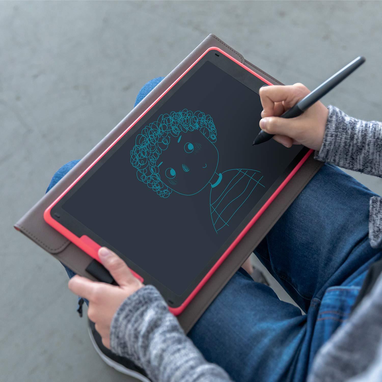 HUION 2019 Nouveau Tablette /à Dessin Graphique Inspiroy Ink H320M Innovante Double Usage Tablette Graphique et Tablette d/écriture LCD avec Sac Rouge Android 8192 Niveaux Fonction dinclinaison