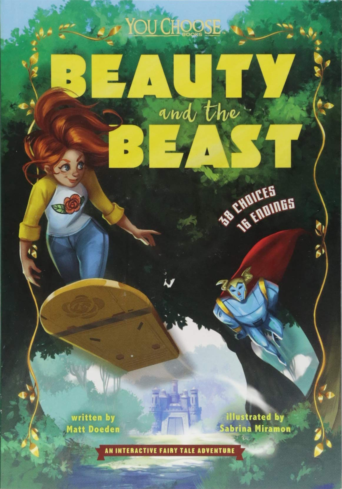Download Beauty and the Beast: An Interactive Fairy Tale Adventure (You Choose: Fractured Fairy Tales) PDF