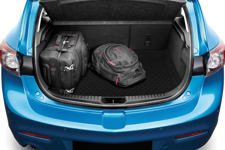 Personalizzati Nera Element Exp.NLC.16.58.B11 Tronco Bagagliaio Vasca Baule Antiscivolo Premium su Misura Ford Fiesta VI MK6 208-2017 Due Volumi Hatchback
