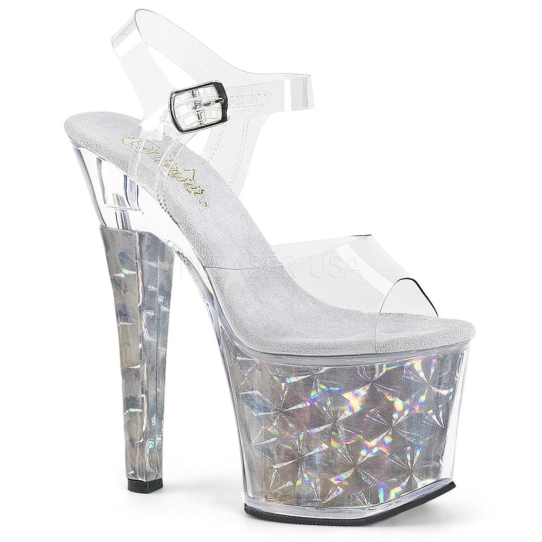 PLEASER womens RADIANT-708HHG/C/S Sandals B074G44QZW 5 B(M) US