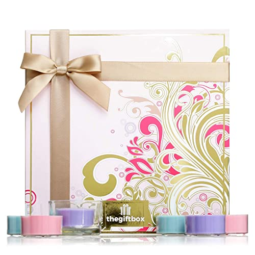 Flutterstar Luxury Candle Gift Set Filled With 21 X Fragranced Scented Candles A Large