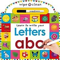 Wipe Clean: Letters