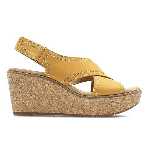 Clarks Sandales compensées Chaussures 26123147 Aisley Tulip