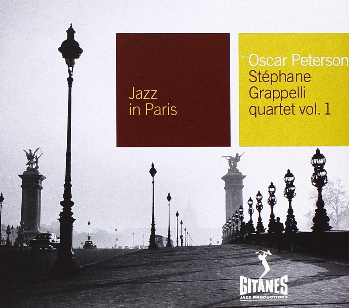 Oscar Peterson - Oscar Peterson-stephanie Grappelli Quartet: Jazz In Paris (CD)