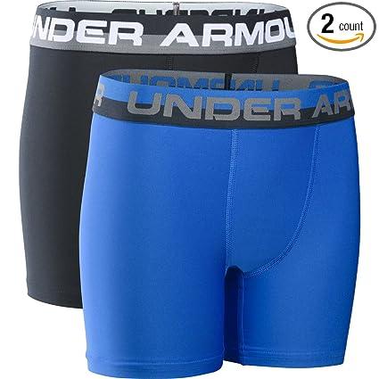 328fbabad1 Amazon.com: Under Armour UA Original Series Boxerjock – 2-Pack Youth ...