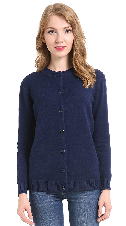 9b21a36f81d Top1  BIMOZI Women Long Sleeve Cardigan Sweaters Button Down Knitwear