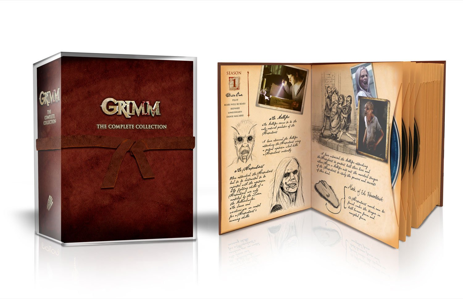 Grimm: The Complete Collection by Universal Pictures Home Entertainment
