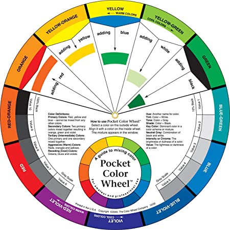 Image result for colour wheel oil painting