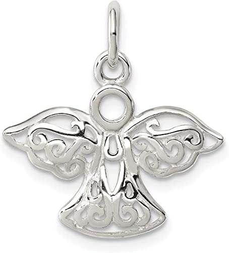 Perfect Jewelry Gift Sterling Silver Angel Charm