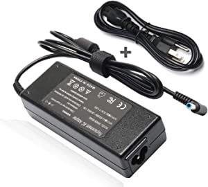 19.5V 4.62A 90W AC Adapter Charger for HP Pavilion 17 15 17-e110dx 17-e117dx 17-e118dx 17-e016dx 17-e119wm 17-e049wm, HP Spectre X360 13 15, HP Envy Touchsmart Sleekbook 15 17 M6 M7 Series