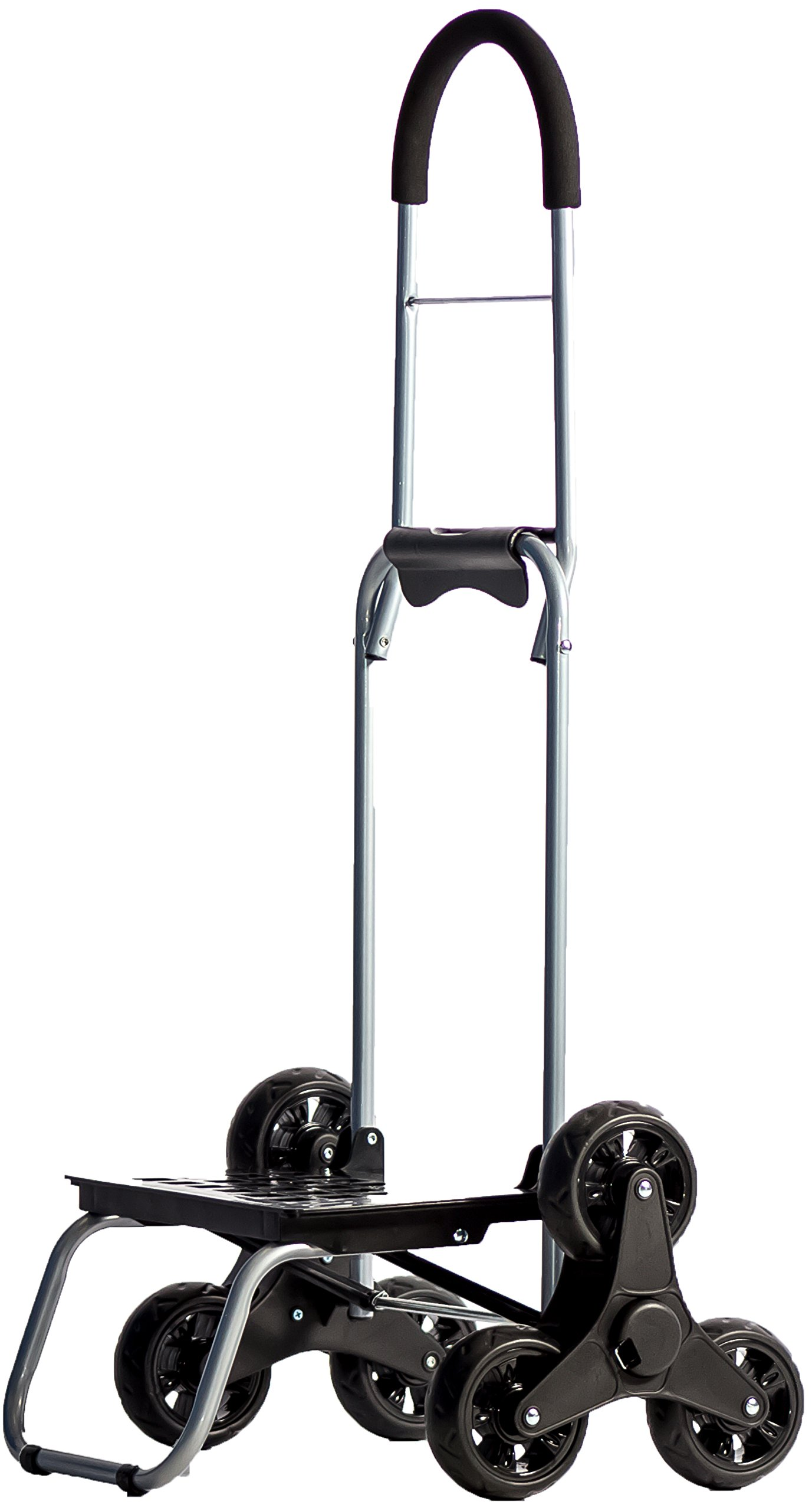 Stair Climber Mighty Max 2 Personal Dolly, Black Handtruck Hardware Garden Utilty Cart