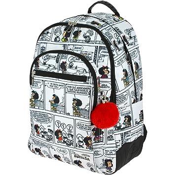 Grafoplás 37500171. Mochila Escolar Mafalda Comic