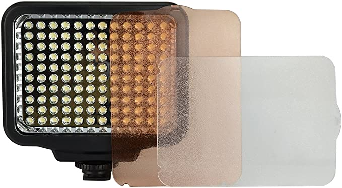 ePhoto Dimmable Ultra High Power Panel Digital Camera or Camcorder Video Light LED Light PT204S