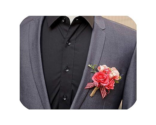 see something wrist flowers Ramillete de Rosas Artificiales ...