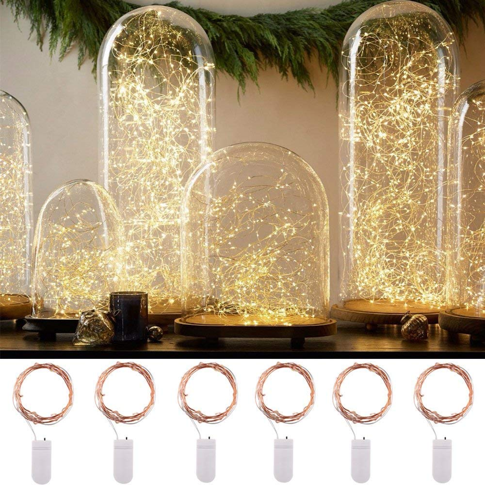 Led Lighting Search For Flights Fairy Crystal Bead Led String Light Christmas Garland Lighting Holiday Wedding Party Home Decoration Battery Powered