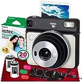 Fujifilm instax Square SQ6 Instant Film Camera (Pearl White) + 20 Sheets Instant Square Film + 20 Sheets Square Instant…