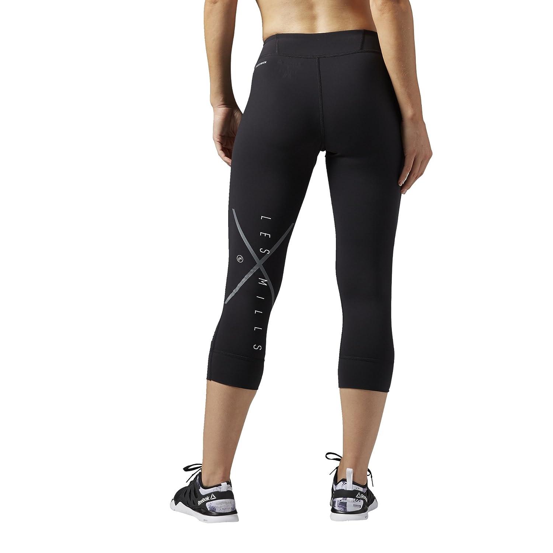 e83f832f7e2dd Reebok Women's Tracksuit Bottoms AJ1729 Les Mills Capri, Black, XL:  Amazon.co.uk: Sports & Outdoors