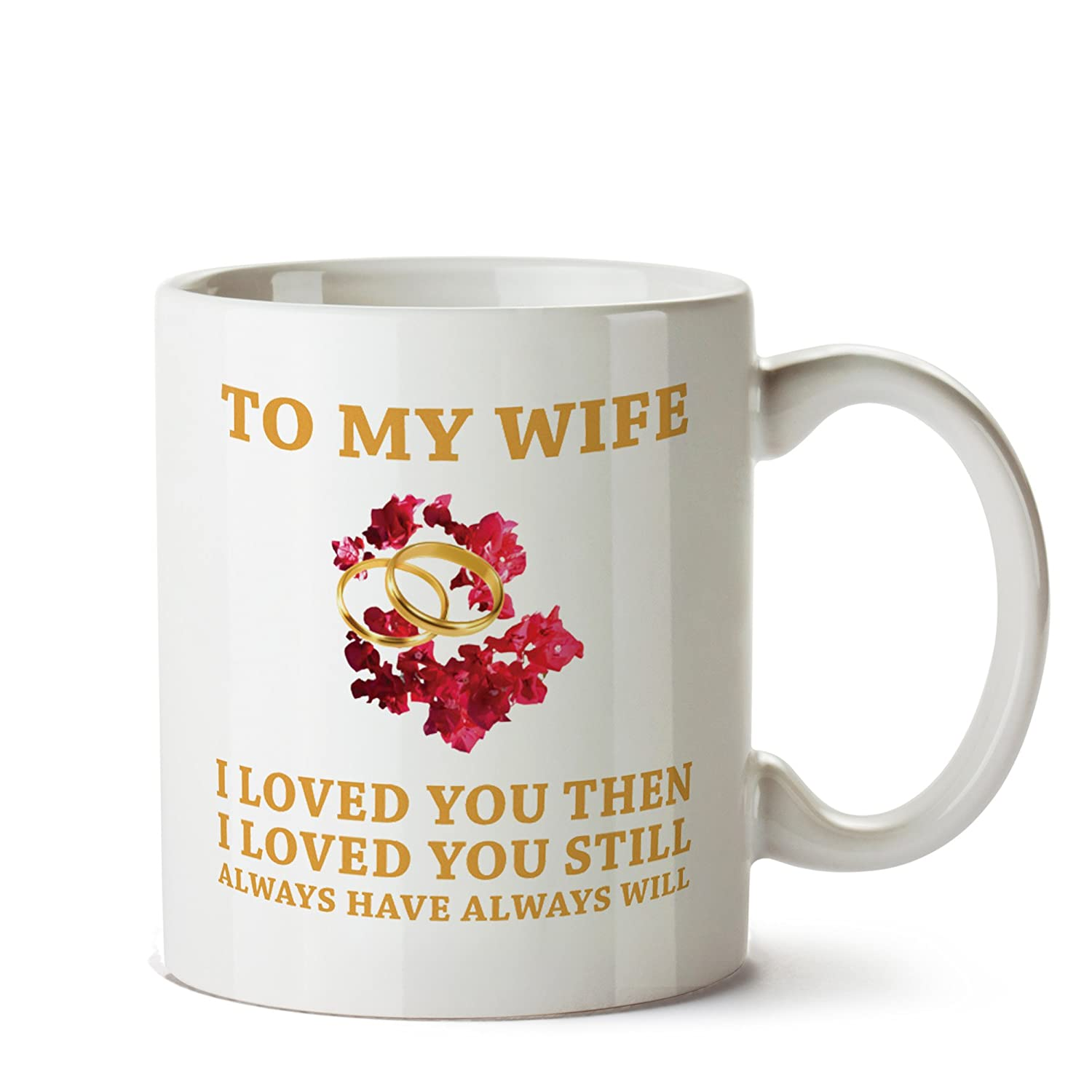 Amazon Gift For Wife Birthday Wedding Shower Mug Her New Bride To Be Spouse Engagement