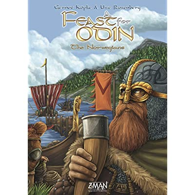 Z-Man Games A Feast for Odin: The Norwegians Expansion: Toys & Games