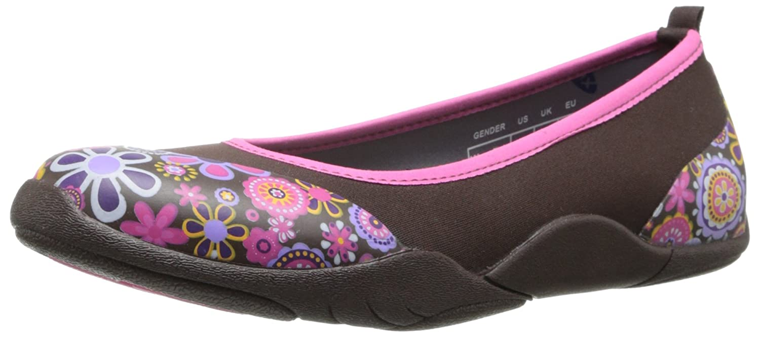 MuckBoots Women's Breezy Ballet Slip-On B00FHVWJ2O 9 B(M) US|Brown/Floral