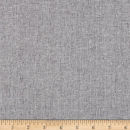 Robert Kaufman Kaufman Essex Yarn Dyed Linen Blend Homespun Indigo Fabric by The Yard