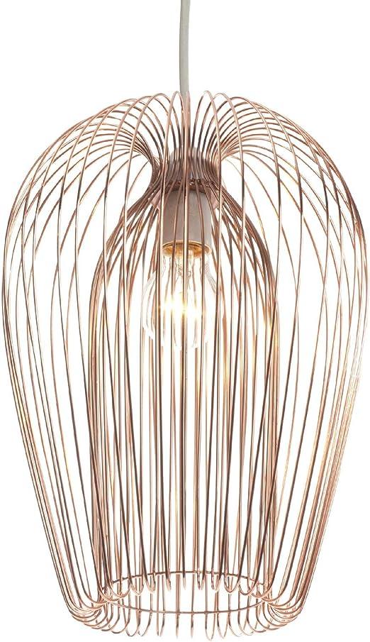 Copper Wire Hanging Ceiling Light Pendant Amazon Co Uk Lighting